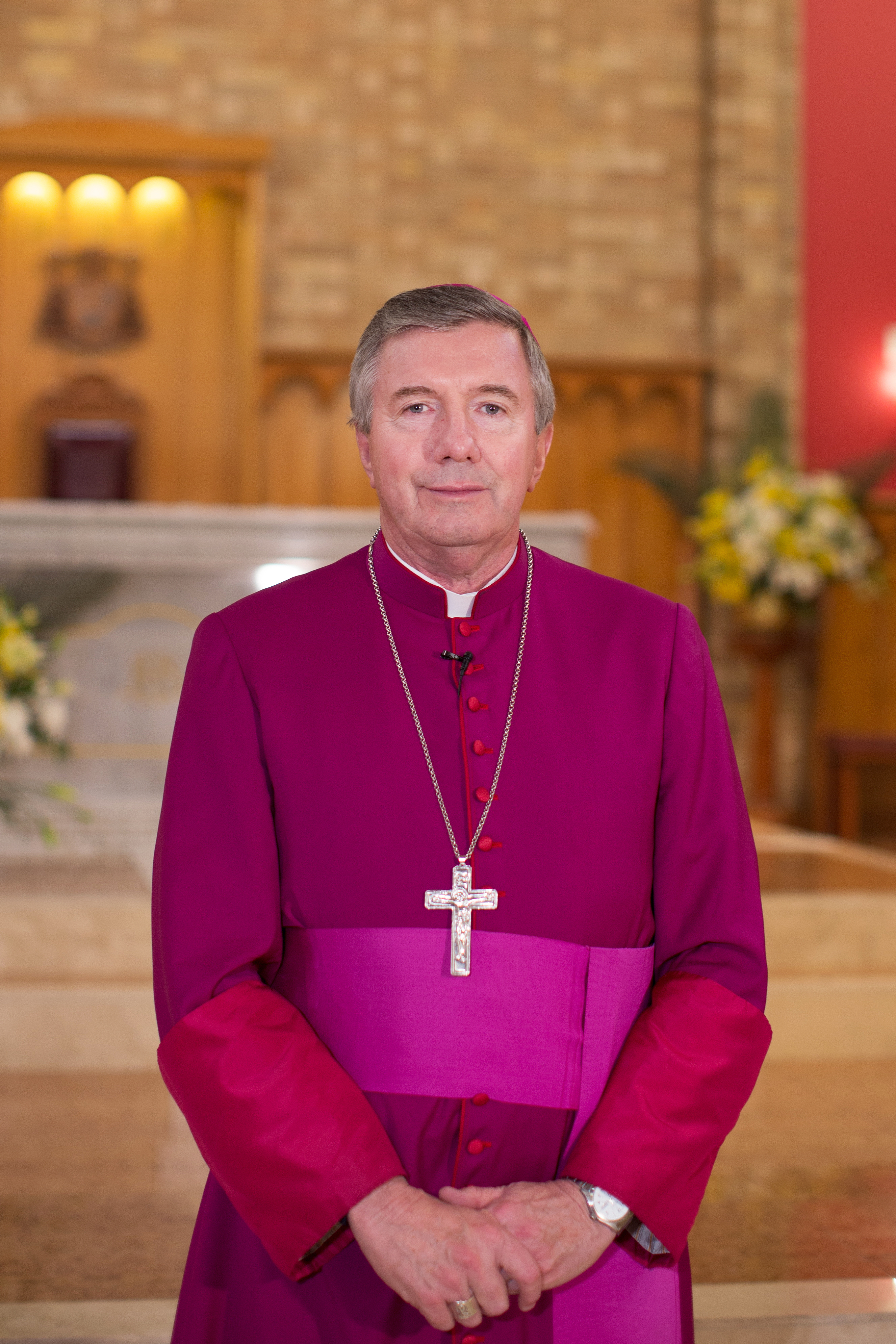 The Apostolic Administrator of Wagga, Archbishop Prowse
