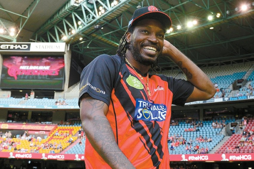West Indian cricketer Chris Gayle hit the headlines for all the wrong reasons last month. PHOTO: ONLINE