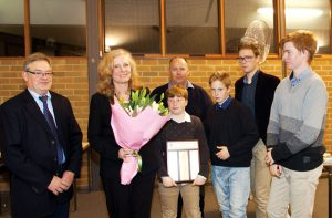 hartwells named family of the year the catholic archdiocese of