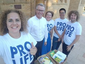 Walkers offer message of life for society at the crossroads