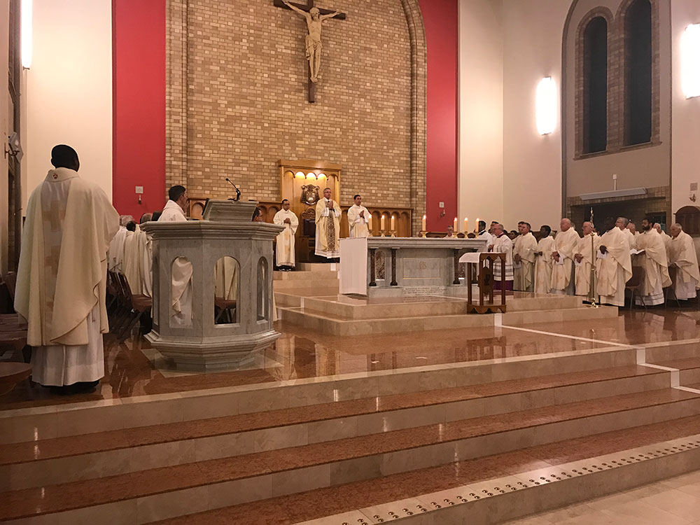 Chrism Mass of the Oils 2018 | The Catholic Archdiocese of Canberra