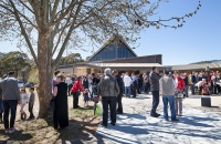 Fra Marinko Zivkovic's Farewell Mass at St Augustine's Croatian Catholic Church, Farrer, Canberra, ACT, 1 October 2017