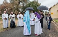 Marian Procession, Galong, 8 October 2017