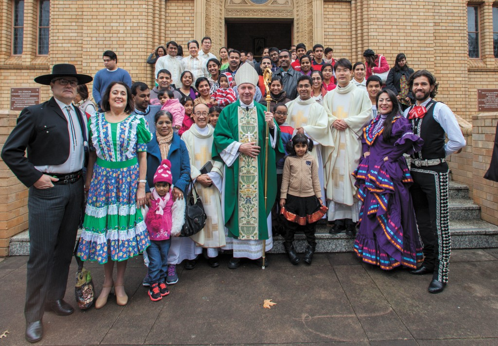 Multicultural Mass, St Christopher Cathedral, Canberra, 12 July 2015