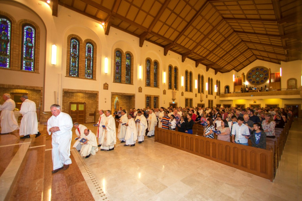 Archdiocezan Assemblyl 'Embrace', Opening Mass, Canberra 20 March, 2015