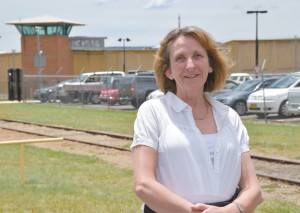 Prison chaplain Julie Kelly says inmates of the Goulburn Correctional Centre are excited about the Year of Mercy and the opportunities it presents them with. For many, learning to forgive themselves for their crimes and accepting the forgiveness of God is a long and difficult process. PHOTO: MATTHEW BIDDLE